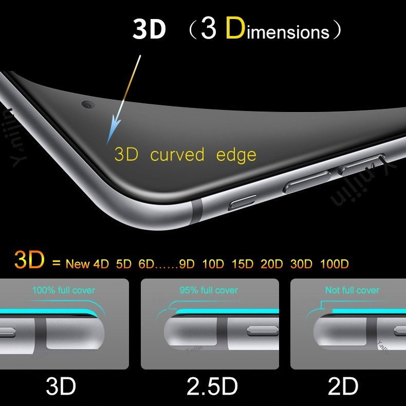 Full Coverage Tempered Glass For Iphone 7 6 6s 8 Plus Glass For Iphone X XS XI 11 Pro MAX XR Glass Screen Protector Protective