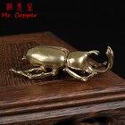 Antique Bronze Beetl...