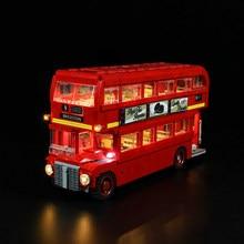 Levou Kit de Luz Para lego CREATOR ESPECIALISTA a London bus Compatível Com 10258 e 21045 blocos set (para não incluir o carro)