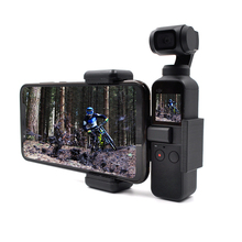 DJI OSMO Pocket Accessories Handheld Camera Phone Holder Bracket Fixed Stand Adapter Border Clip Base Screw for OSMO Pocket 2