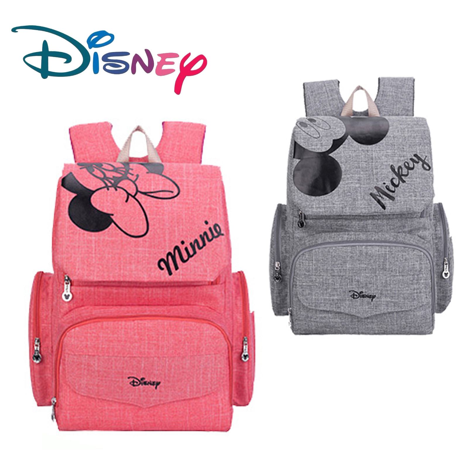 Disney Fashion Mummy Maternity Nappy Bag Baby Diaper Bagsbolsa Maternidade Para Bebe Waterproof Bag For Stroller Large Capacity