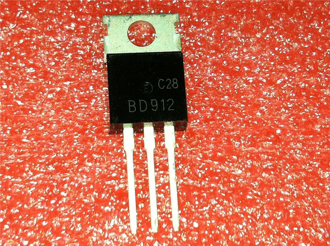 10pcs/lot BD912 TO-220 100V 15A New Original In Stock