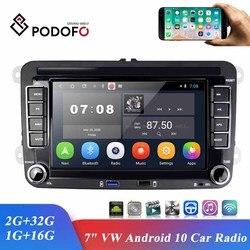 Автомагнитола Podofo, мультимедийный плеер на Android, с 7