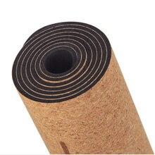 Резиновый экологически чистый деревянный мягкий коврик для йоги