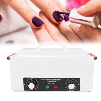 nail art sterilizer box uv ozone disinfection cabinet nail art tool box nail art sterilizer boxes 6w 300W Nail Art Tool Disinfection Cabinet High Temperature Sterilizer Machine for Nail Tool Sterilizing US/EU Plug 110V/220V