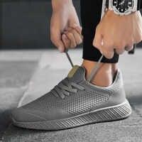 Männer Schuhe Outdoor Fashion Casual Schuhe für Männer Sommer Mesh Bequeme Schuhe Licht Joggen Männlichen Turnschuhe Große Größe 45 48