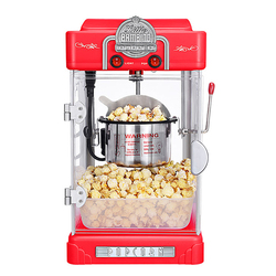 Commercial Popcorn Maker Hot Air Home Automatic Electric Corn Popcorn Making Machine DIY Corn Popper KTV Cinema Casual Snacks