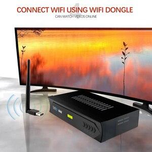 Image 2 - Vmade européen c line HD DVB S2 M5 lnb récepteur satellite complet 1080P espagnol portugais arabe TV box avec USB Wifi réception