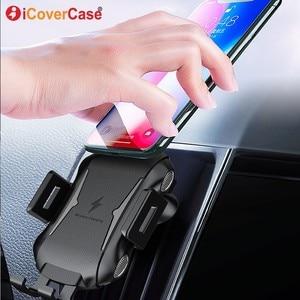 Image 1 - Cargador rápido para Blackview BV6800 Pro BV5800 pro BV9500 BV9600 Pro Qi, cargador inalámbrico para coche, soporte para almohadilla de carga, accesorio de teléfono