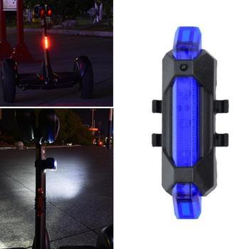 Recargable de advertencia LED nocturno linterna de la lámpara de Scooter eléctrico partes luz trasera para Xiaomi Mijia M365
