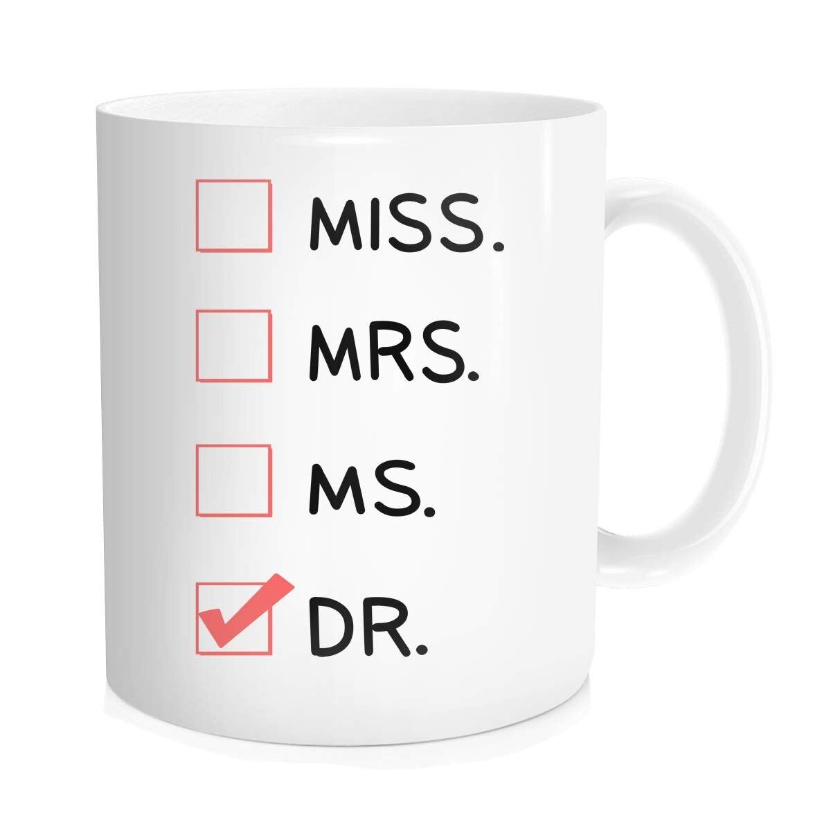 Med Student Ceramic Coffee Tea Mug Cup