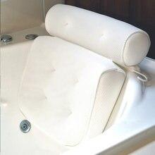 Дышащая подушка для спа с 3d сеткой поддержка шеи и спины присосками