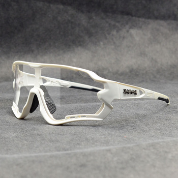 Photochromic ciclismo óculos de sol homem & mulher esporte ao ar livre óculos de bicicleta óculos de sol óculos de sol gafas ciclismo 1 lente 26