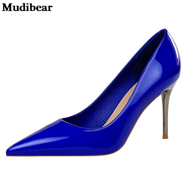 Купить туфли лодочки женские на высоком каблуке кожа заостренный носок