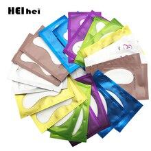 20/50 пар бумажные накладки для наращивания ресниц прививочные глазные наклейки для ресниц под глазные накладки без ворса увлажняющие накладки для глаз