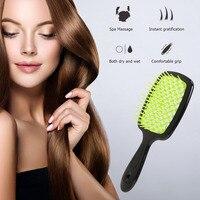 1Pcs Professional Hair Massage Comb Salon Hair Care Styling Tool Anti Tangle Anti-static Hairbrush Head Massager Comb 4