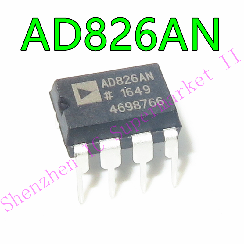 1pcs/lot AD826 AD826AN DIP-8 In Stock