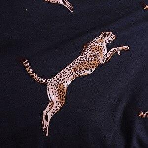 Image 5 - LOVINSUNSHINE Duvet Cover King Size Queen Size Comforter Sets Leopard Printing Bedding Set AB#196