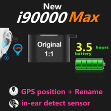 Original i90000 Max TWS 1:1 In-Ear Mini Blutooth 5.0 Earphone 8D Super Bass Wireless Stereo Earbuds PK i9000 i90000 Pro TWS AP2
