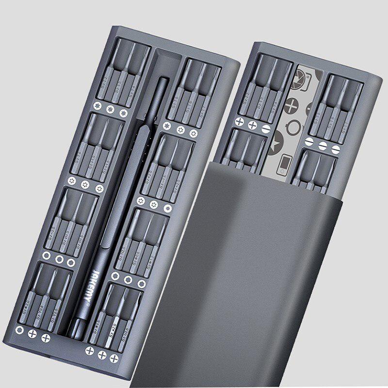 JAKEMY JM-8169 49 In 1 Mini Screwdriver Set Disassembling Tools(Gray)