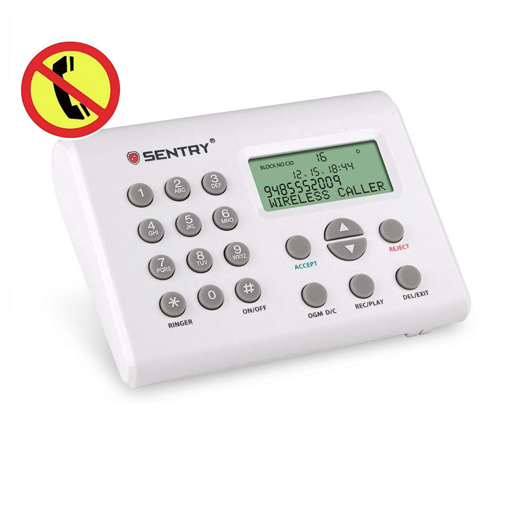 Call Blocker Device For Telephones With Whitelist Blacklist And Phonebook, Block All Solicitor Calls Nuisance Calls Junk Calls