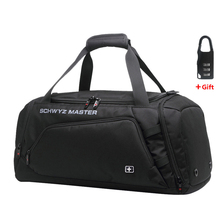 Swiss bag Men Travel Luggage bags Oxford Duffle Bags Travel Handbag Waterproof Weekend Bag Large Capacity Shoulder bag for men