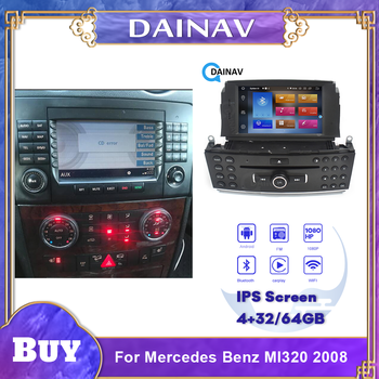 2 din Android Car DVD Player GPS Navigation For Mercedes Benz Ml320 2008 Car Auto Multimedia DVD player image