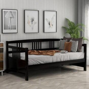 Wooden Bed  Pine Frame  1