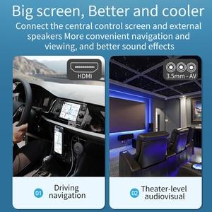 Image 5 - 4K H.265 2.4/5G kablosuz WiFi ekran Dongle alıcı HDMI TV çubuk mini PC AnyCast için Airplay DLNA Miracast kablolu monitör aynı ekran