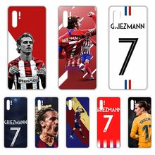 football Griezmann Spain cell cover Transparent Phone Case For HUAWEI nove 5t p 8 9 10 p20 P30 p40 P pro Smart 2017 2019 Z lite(China)