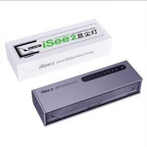 Image 5 - Qianli iSee Lámpara de reparación de pantalla LCD, luz de detección de arañazos y huellas dactilares, lámpara de búsqueda de grasa para renovación de reparaciones de teléfono