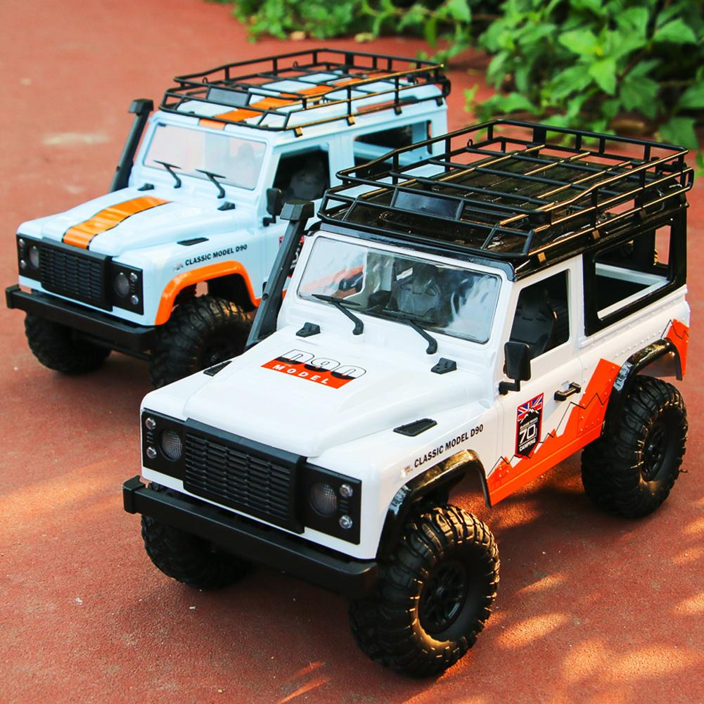 MN-99 For D90 Land Rover Anniversary Edition 1:12 2.4G 4WD Remote Control Car 2 Battery
