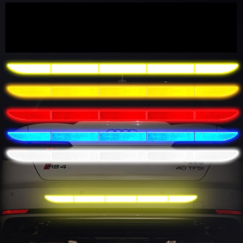 For Honda CRV Car Bumper Reflective Tape Strip Stickers High Reflective Tape Auto Exterior Accessories 2007 2008 2009 2010 2005