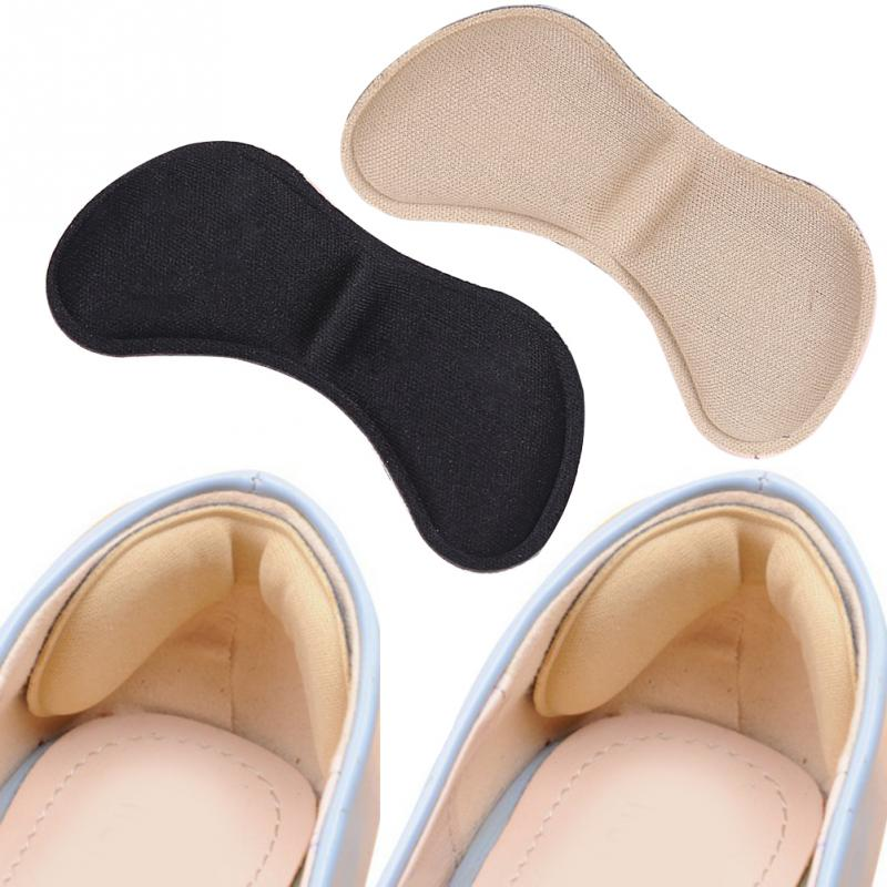 Fashion 5 Pairs Practical Sticky Fabric Shoes Back Heel Inserts Insoles Pads Cushion Liner Grips High Quality Braces & Supports