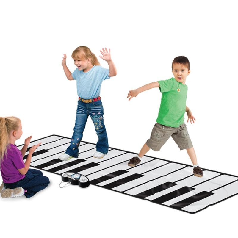 Kids Puzzle Music(Carpet Piano) Mat Oversize Foot Electronic Piano  Blanket Toys Boys And Girls Birthday Gifts