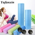 45/60cm High density EVA Yoga Foam Roller Pilates Exercises massage roller Fitness Gym muscle massage column toolEquipment Brick