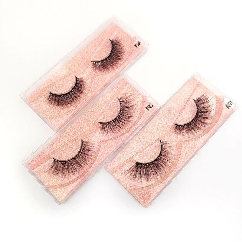 Image 5 - Eyelashes Wholesale 20/30/40/50pcs Mink Eyelashes Wholesale Lashes In Bulk Mink Lashes Natural False Lashes Bulk Makeup LashesFalse Eyelashes   -