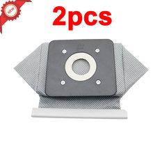 2 шт моющийся мешок для пылесоса philips electrolux lg haier