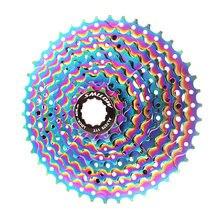 Smllow mtb красочные кассета 9 Скорость 11 13 16 20 24 28 32