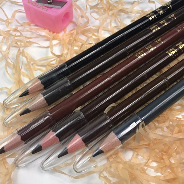 6 Colors Eyebrow Pencil Long-Lasting Eye Brow Tattoo Tint Liner Pen Waterproof Eyebrow Enhancers Professional Makeup Tool TSLM1 4