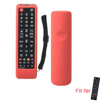 SIKAI Silicone Full Protective Case Cover for Samsung Smart TV BN59-01315A/01199F AA59-00817/00816A Dustproof Remote Holder Skin