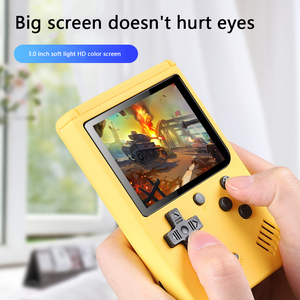 Image 3 - NEW 500 Game Pocket Game Console 3.0 inch Mini Handheld Game Player 8 Bit Retro Consoles LCD Video Gaming Console For Kids Gifts