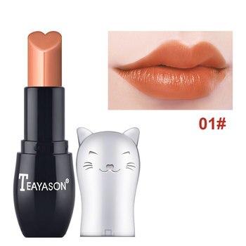 TEAYASON 12 colores lápiz labial hidratante mate lápiz labial chica desnuda lápiz labial conjunto impermeable de larga duración lápiz labial líquido TSLM1