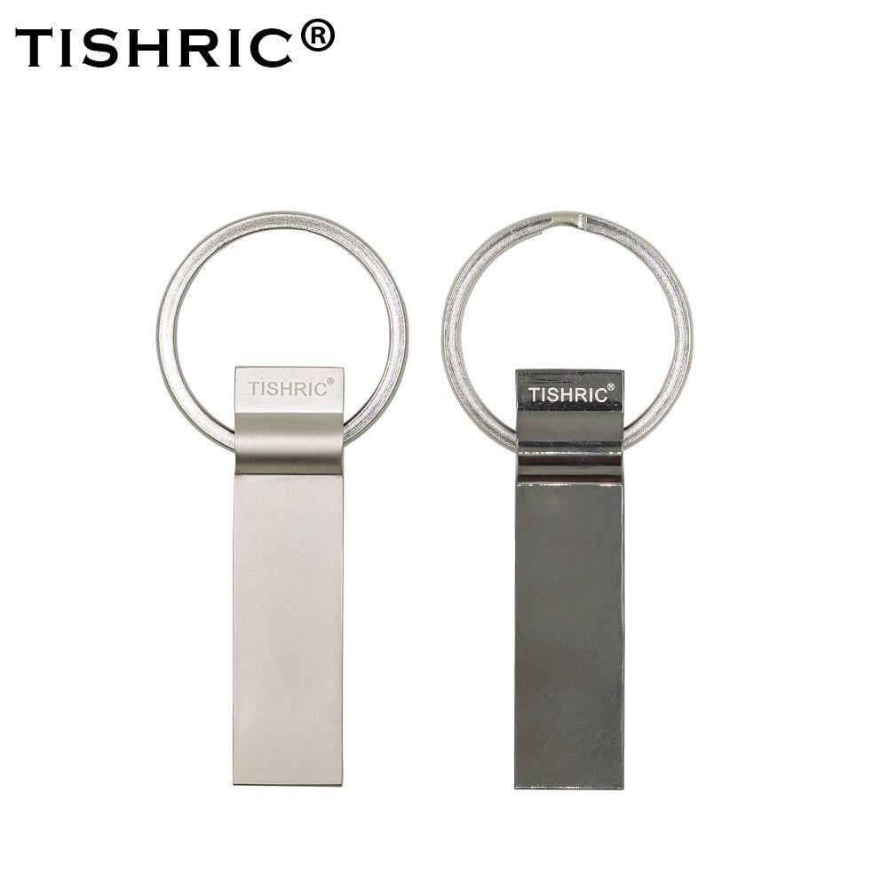TISHRIC USB Flash Drive 4g/8g/16g/32g/64g/128g USB Flash Stick  Pendrive Flash Memory Storage Devices On Key For PC Latop