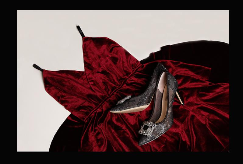 Célébrité France luxe noir dentelle maille carré gemme Bling perles haut talon soirée dames demoiselles d'honneur Sexy robe chaussures - 6