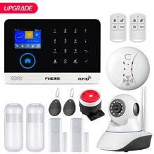 Fuers Upgrade PG103 Wifi Gprs Gsm Alarmsysteem App Controle Flash Sirene Rook Sensor Pir Bewegingsmelder Rfid set