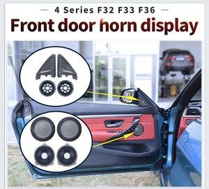 Image 2 - Audio Upgrade Kit Für BMW 4 Serie F32 F33 F36 Horn Bass Subwoofer Mitten Lautsprecher Hochtöner Lautsprecher Abdeckungen Power Verstärker