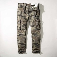 Military Warm Cargo Pants Men Casual Camo Pants