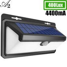 A2 светодиодный Ночной светильник на солнечной батарее уличные