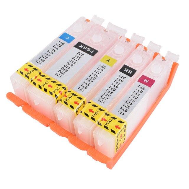 리필 PGI 580 cli 581 빈 리필 잉크 카트리지 영구 칩 캐논 pixma ts705 ts6150 ts6250 tr7550 tr8550 tr9550c